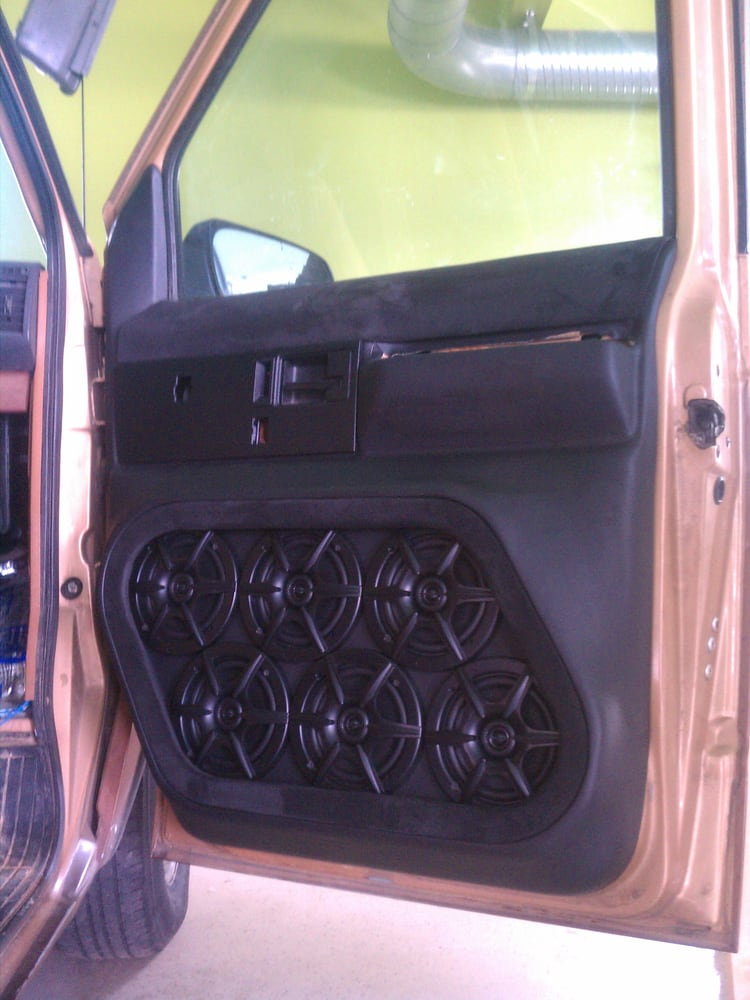 priceless red panels l truck interior door doors chevy silver custom black grey
