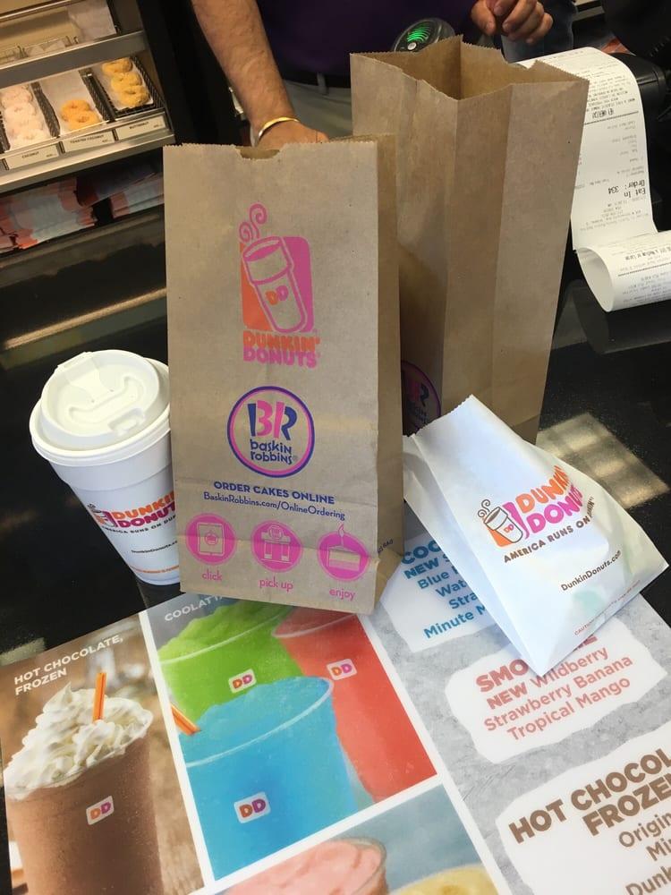 Dunkin Donuts  Baskin Robbins: 404 W Universt Ave, Urbana, IL