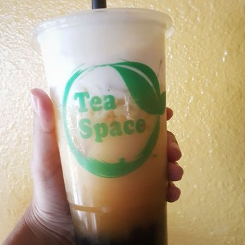 Photo of Tea Space Sunset Park - Las Vegas, NV, United States. i gave the sea salt jasmine tea-latte another try and it was better! thumbs up. (reg sized pictured)