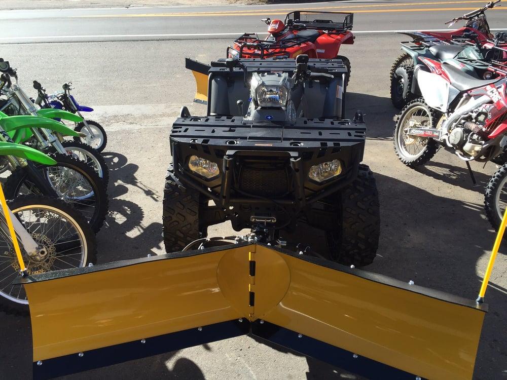 I Love My Custom Installed Hydraulic Atv Plow Great Service