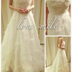 of bride 39 s love smile san jose ca united states wedding dress