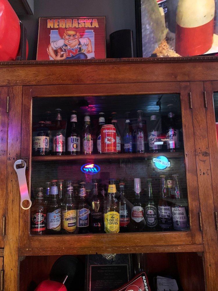 The Den Saloon: 110 W Main St, Cedar Bluffs, NE