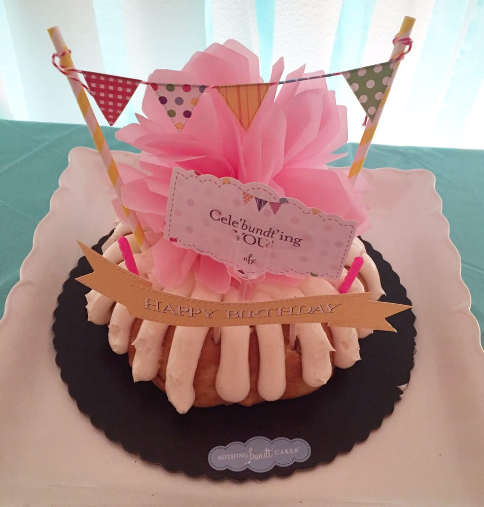 Nothing Bundt Cakes Chula Vista Ca