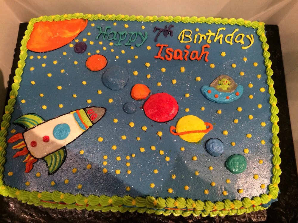 Isaiahs 7th Birthday Cake Was Scrumptious Yelp