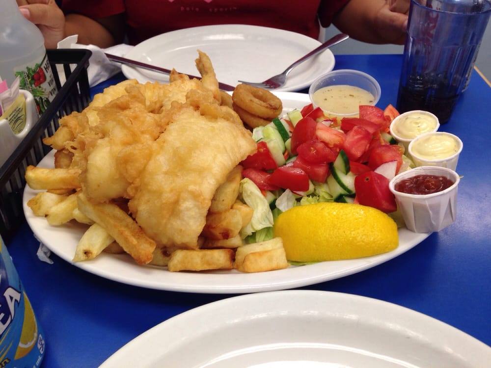 Captain george fish chips seafood 161 queen street for Fish and shrimp near me