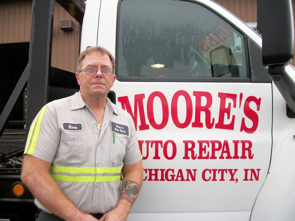 Moore's Auto Repair & Towing: 942 Green St, Michigan City, IN