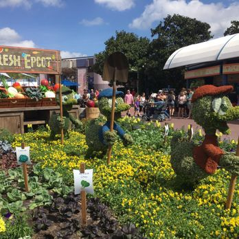 Exceptionnel Photo Of Epcot Flower And Garden Festival   Orlando, FL, United States. More