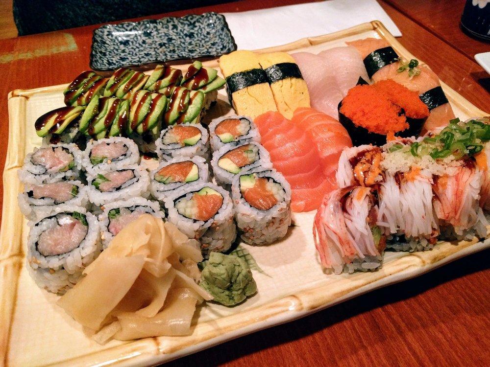 Food from Hinode Japanese Restaurant