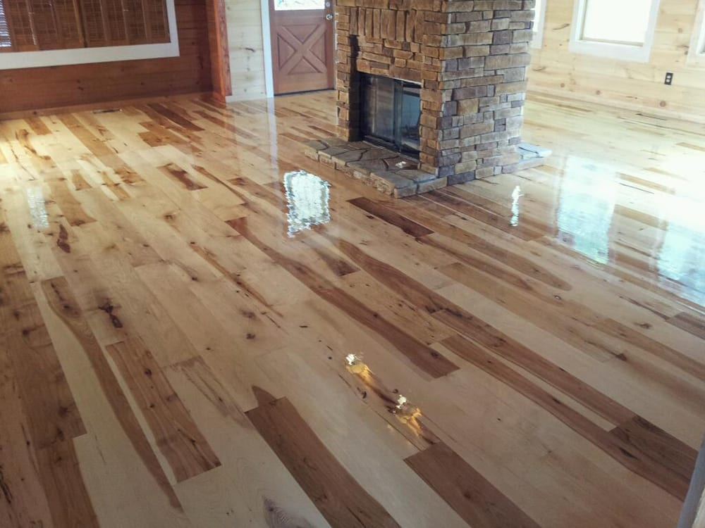 Hickory With Natural Oil Based Polyurethane Yelp