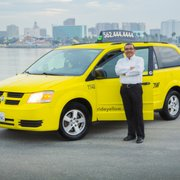 Long Photo Of Beach Yellow Cab Ca United States