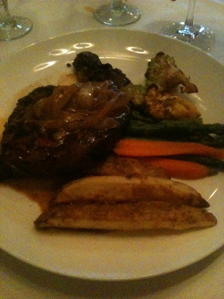 Grilled prime ribeye perfectly cooked yelp Cafe chardonnay palm beach gardens