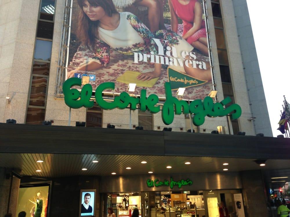 El corte ingles centros comerciales avenida jose mesa for Peluqueria mesa y lopez