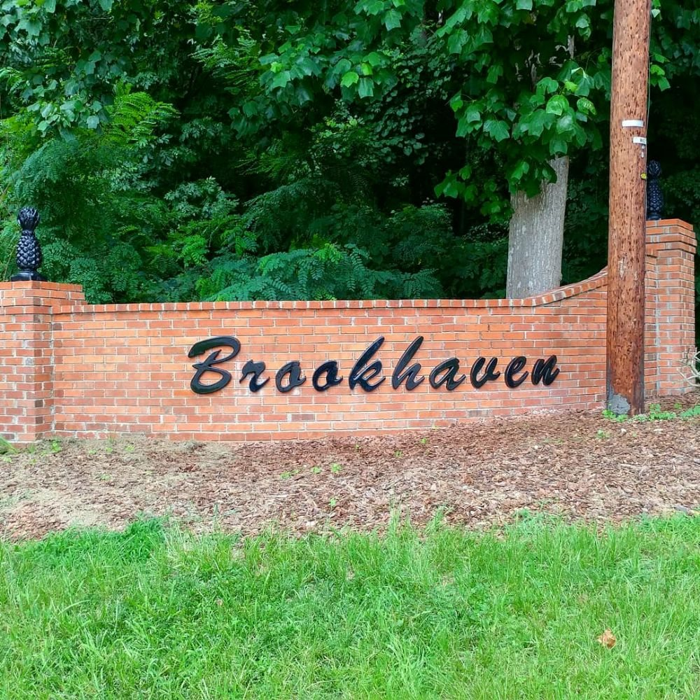 3D letters installed for Brookhaven Neighborhood - Yelp