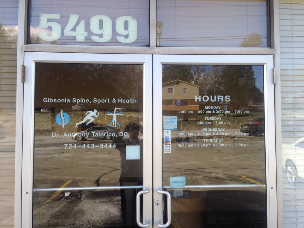 Gibsonia Spine, Sport & Health: 5499 William Flinn Hwy, Gibsonia, PA
