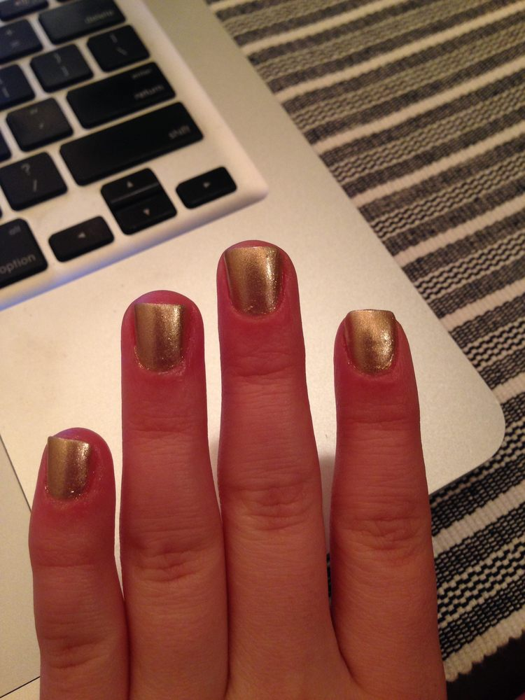 some nails cut on a slight angle... - Yelp