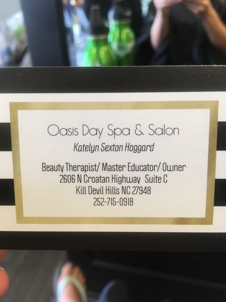 Oasis Day Spa And Salon: 2606 N Croatan Hwy, Kill Devil Hills, NC