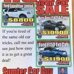 Car Dealerships In Sumter Sc >> Sumter Car Guy Used Car Dealers 1268 Broad St Sumter Sc