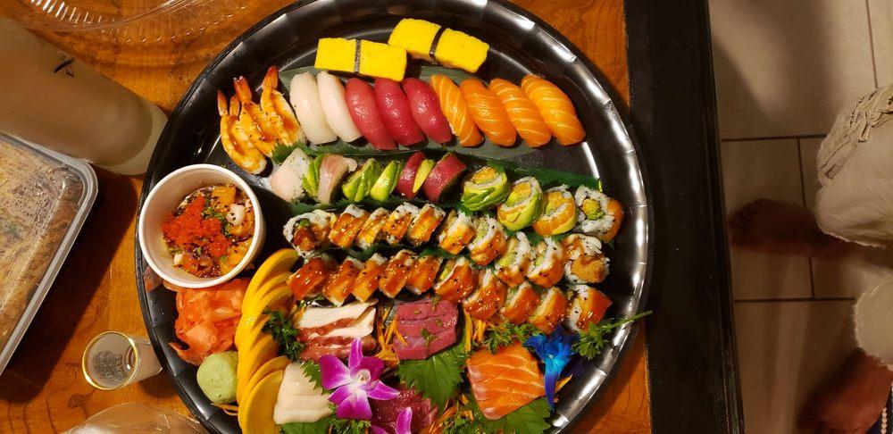 Food from Jasmine Thai Restaurant & Sushi Bar