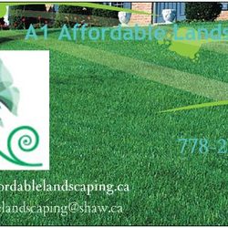 A1 Affordable Landscaping Landscaping Surrey BC Phone