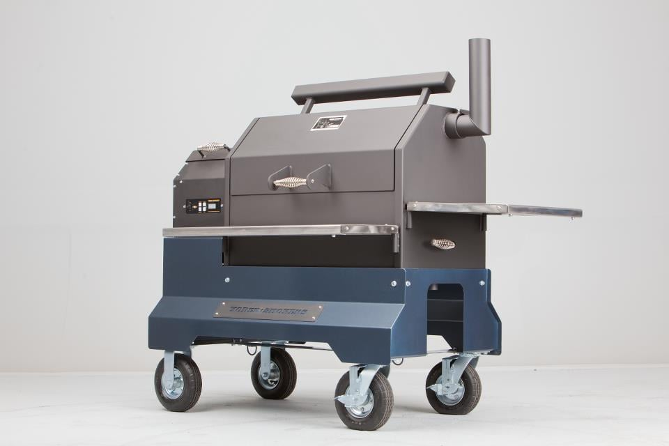 Yoder Smokers YS640 on a Comp Cart - Yelp