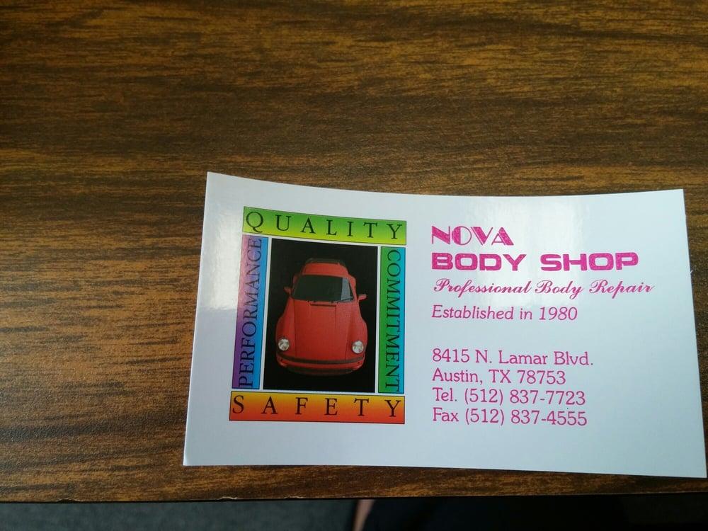 Nova Body Shop