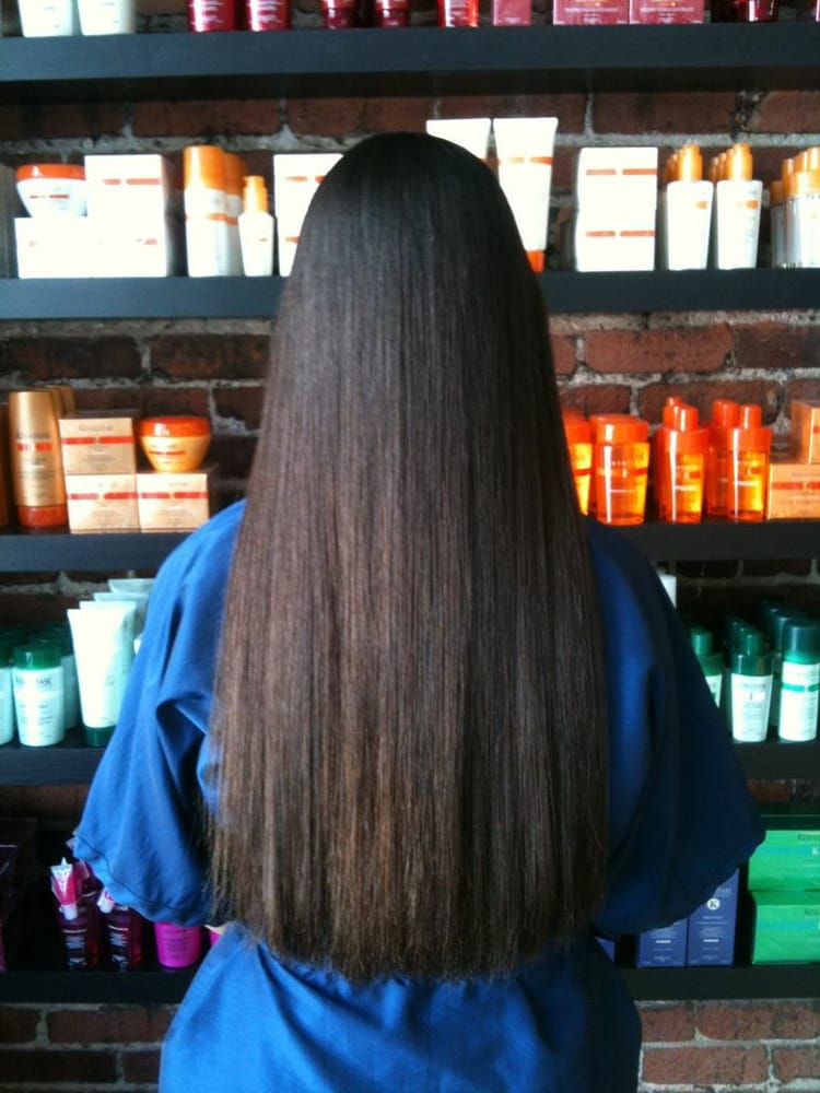 Japanese Hair Straightening Thermal Reconditioning After