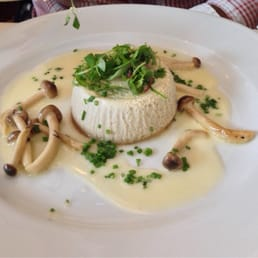 Restaurant X & Bully Boy Bar - Congers, NY, United States. Mushroom flan for restaurant week 2014