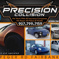 Precision Collision Automotive Get Quote Body Shops 2520 Peger Rd Fairbanks Ak Phone