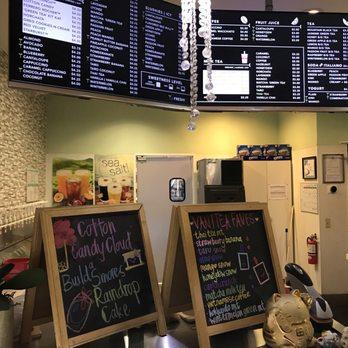 Vanitea Cafe Menu