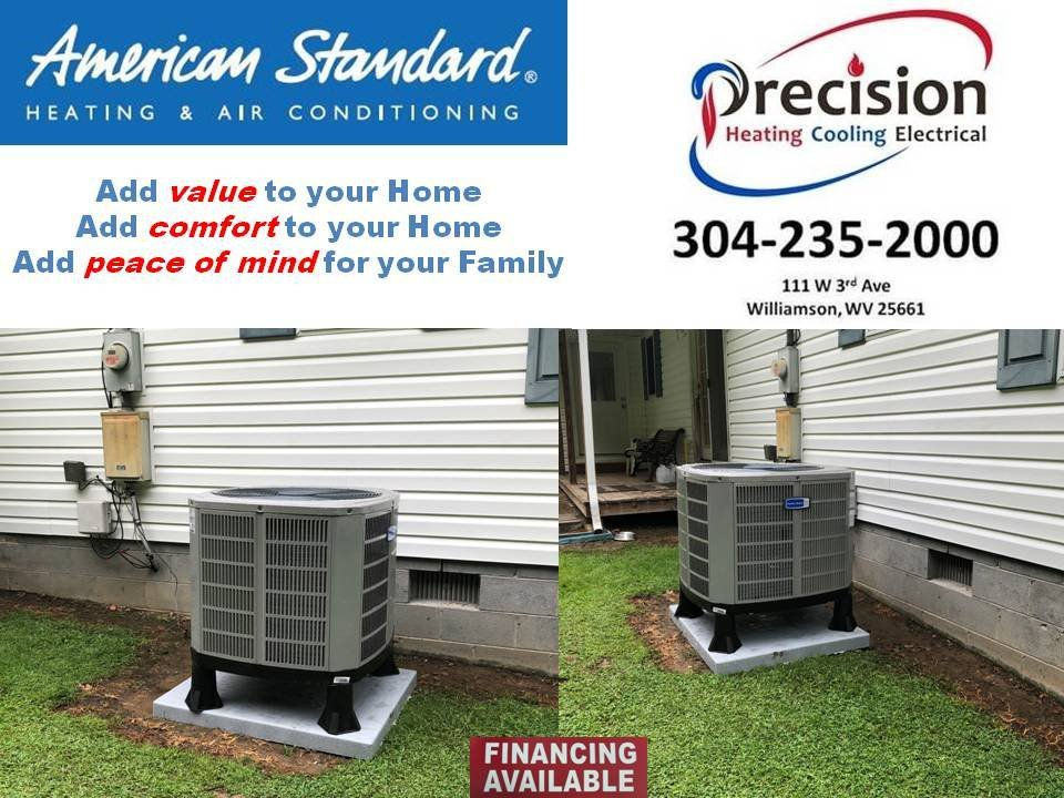 Precision Heating Cooling And Electrical Get Quote Air Conditioning Hvac 111 W 3rd Ave Williamson Wv Phone Number Yelp