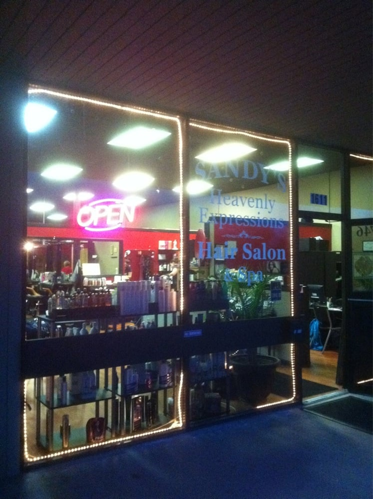 Sandy s heavenly expressions hair salon spa sal es de - Expressions hair salon ...