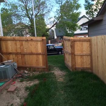 1 grade 1x6x6 dog eared (DE) western red cedar fence  - Yelp