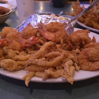 Photo Of Silver Bay Seafood Stockbridge Ga United States Combo Seafood Platter