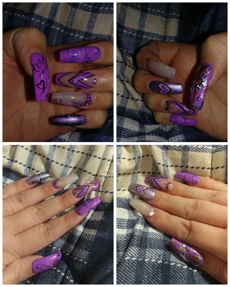 Collins Nails Salon & Spa: 1303 N Collins St, Arlington, TX