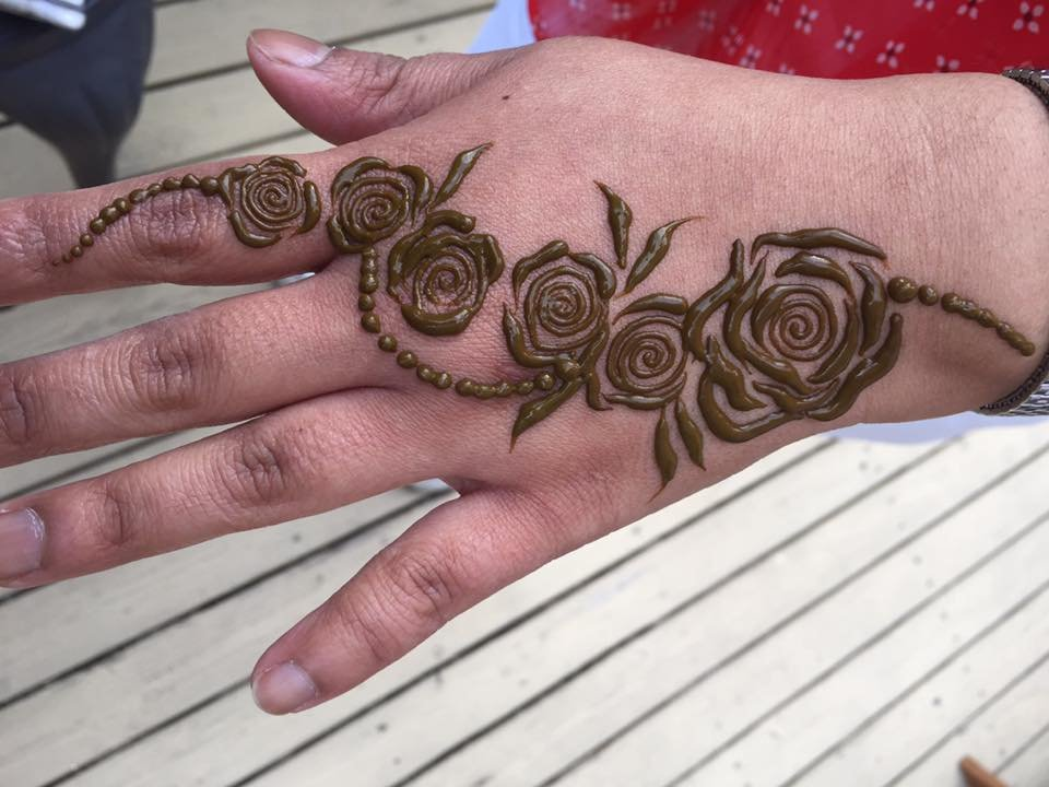Arabic Roses Its Arabic Henna Design Yelp