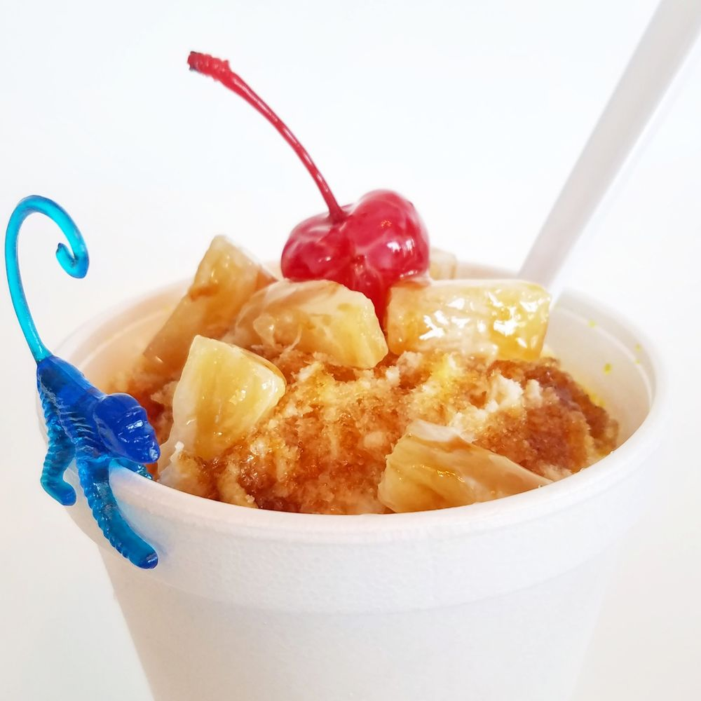 Funky Munky Shaved Ice: 134 College Park Dr, Weatherford, TX
