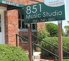 851 Music Studio: 1043 Grant St, Benicia, CA