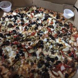 Photo Of Peluso S Italian Restaurant Columbus Ga United States Large Deluxe Pizza