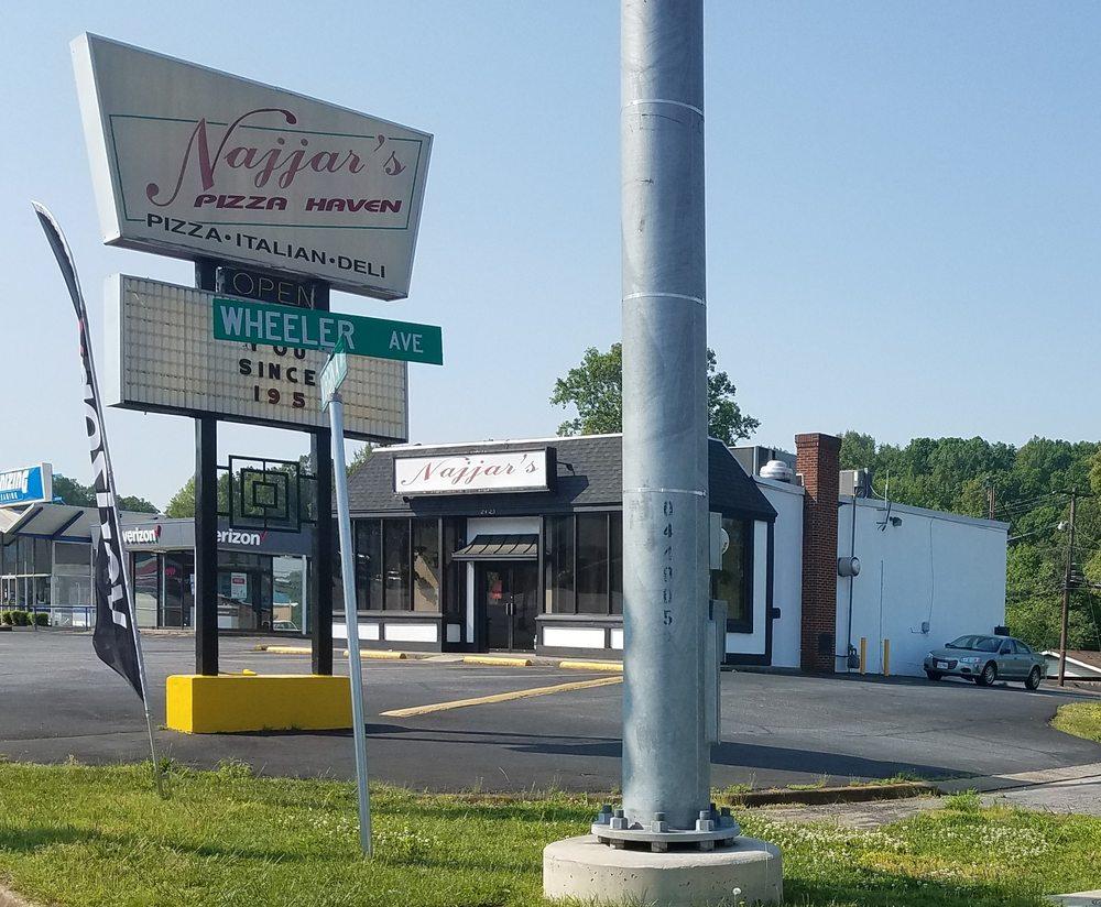 Najjar's Pizza Haven: 2425 Virginia Ave, Collinsville, VA