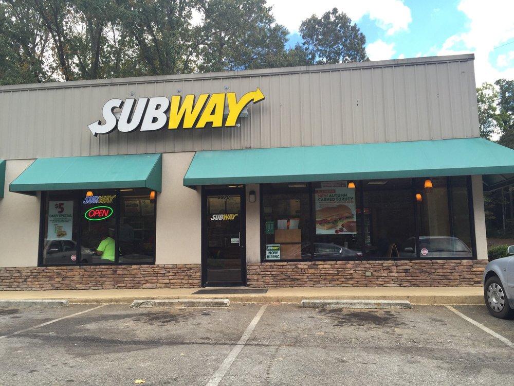 Subway: 9970 Ball Ground Hwy, Ball Ground, GA