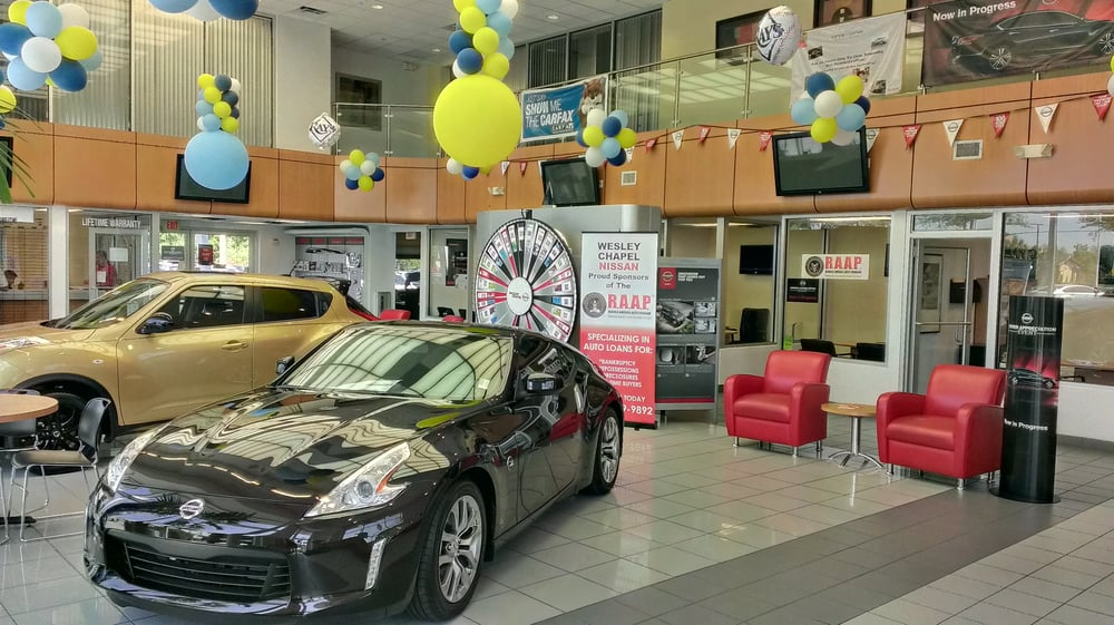 Photo of Wesley Chapel Nissan - Wesley Chapel, FL, United States. Wesley Chapel Nissan Showroom