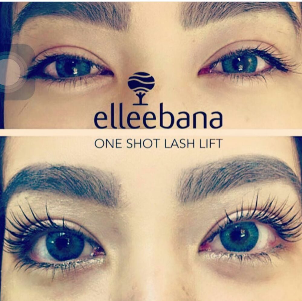 Elleebana Lash Lift With Tint With Your Natural Lash Last