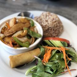 Photo Of My Vegan Pasadena Ca United States En Cashew Lunch Special