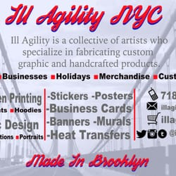 Ill agility nyc closed graphic design crown heights brooklyn photo of ill agility nyc brooklyn ny united states reheart Choice Image