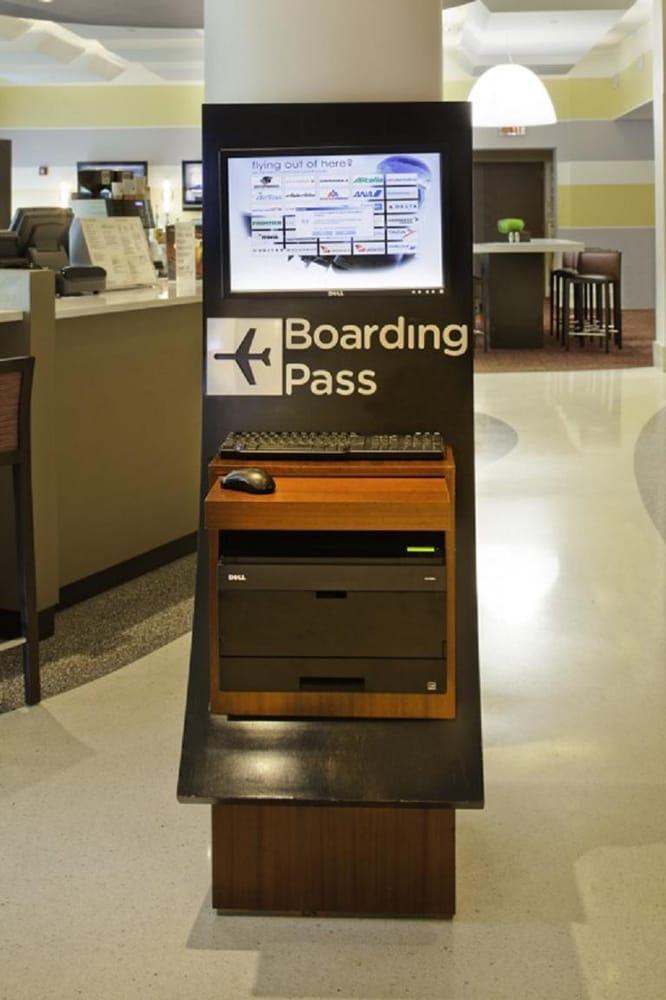 Boarding Pass Kiosk Yelp