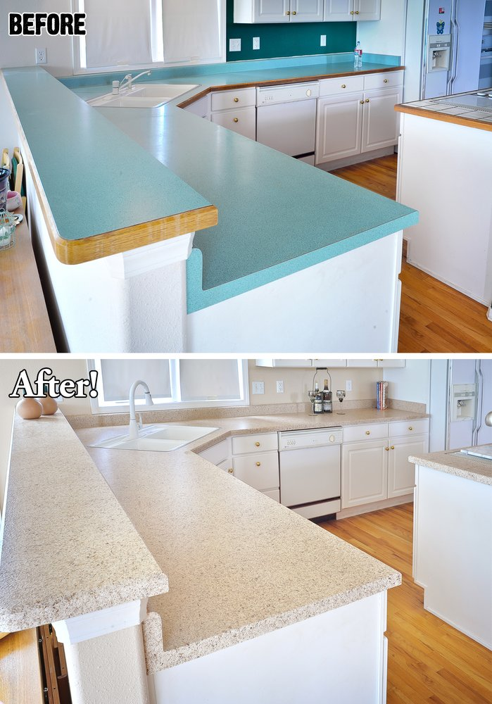 Photo Of Miracle Method Surface Refinishing Muskego Wi United States Kitchen Countertop