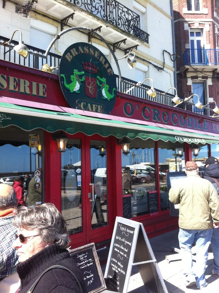 O crocodile restaurants 39 quai fran ois 1er le - Restaurant seine port ...