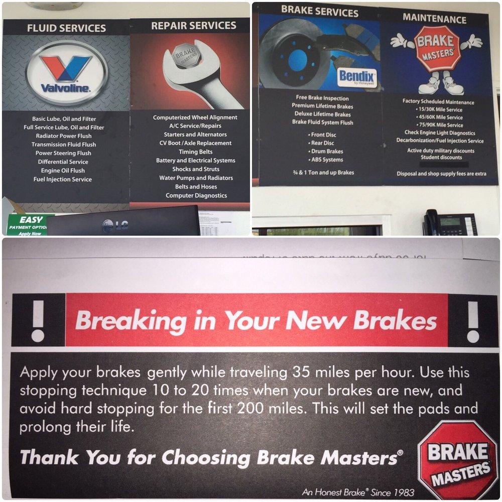 Brake Masters - 52 Reviews - Auto Repair - 1910 Rock Springs Dr, Las Vegas,  NV - Phone Number - Yelp