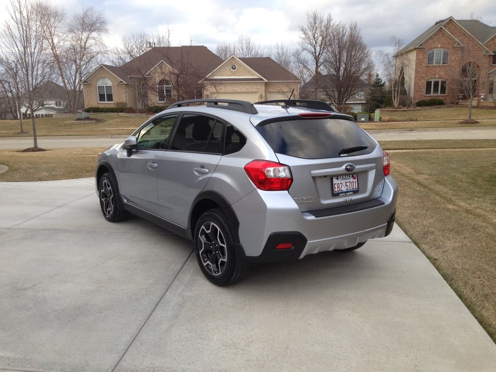 2015 subaru xv crosstrek premium ice silver metallic purchased march 26 2015 from gerald. Black Bedroom Furniture Sets. Home Design Ideas