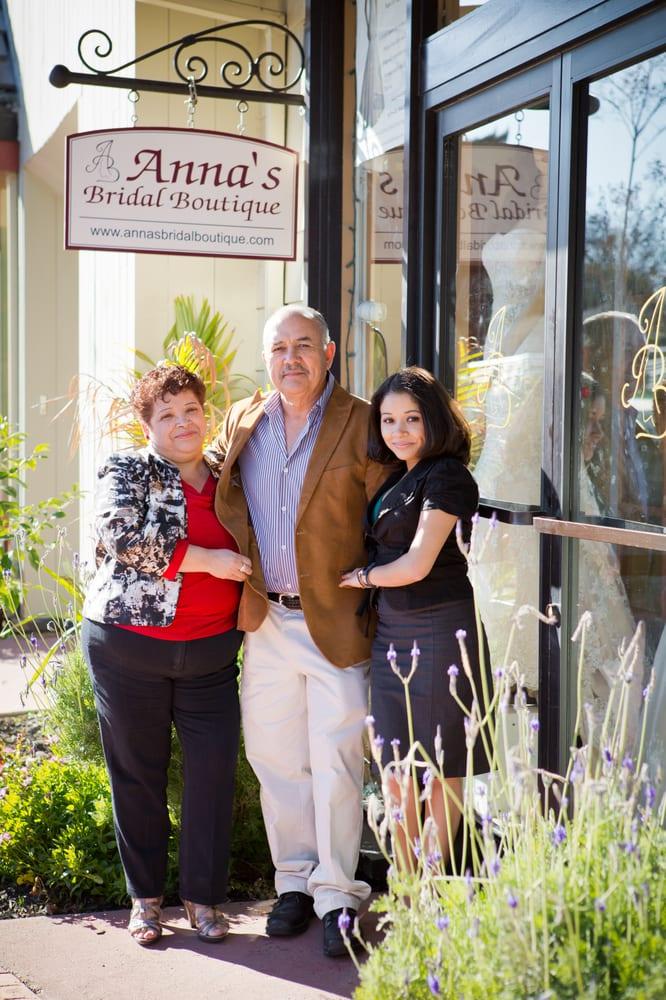 Anna's Bridal Boutique: 1030 Clinton St, Napa, CA